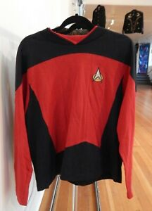 Vintage STAR TREK TNG Next Generation PICARD cosplay STARFLEET uniform XL tunic