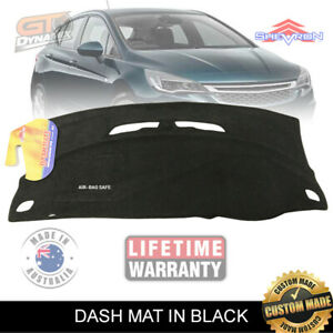Dash Mat HOLDEN ASTRA BK R RS RS-V HATCH (NO HUD) 9/2016-2019 BLACK DM1455