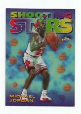 MICHAEL JORDAN SHOOTING STARS INSERT REFRACTOR CARD 6! IT IS A BEAUTY!