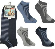 24 Pairs mens gents boys TRAINER  Socks Novelty Design MEGA MIX