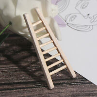1:12 Dollhouse Miniature Furniture Handmade Wooden Ladder Doll Accessor~jp YK
