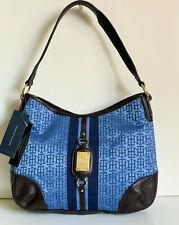 NEW! TOMMY HILFIGER ROYAL BLUE HOBO SHOULDER BAG PURSE $79 SALE