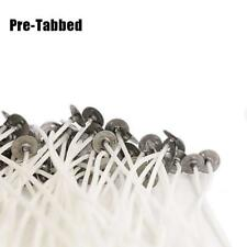 100Pcs for Candle Making With Sustainers Pre Waxed Candle Wicks -12cm Long 1C1U