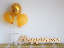 Gold Confetti Balloon Kit, Anniversary, Wedding, Engagement, Party Decoration