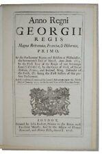 1716 JACOBITE RISING OF 1715 Scotland HIGH TREASON History GEORGIAN ACT