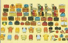 Luggage 90  Pieces Preiser HO Gauge  1:87