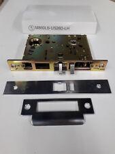 Orion mortise lock latch, model M860LB-US26D-LH