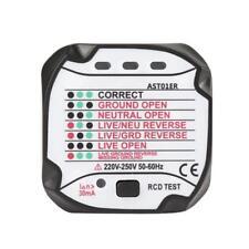 Professionnel Automatique Détecteur de testeur de prise électrique 220V EU Plug
