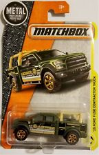 Matchbox - 2017 MBX Construction 15 Ford F-150 Contractor Truck 47/125 (BBFRD88)