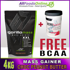 Mass Gainer - Whey Protein - Gorilla Mass - Chocolate Peanut Butter - 4kg