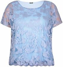 Tunic, Kaftan Lace Stretch Sleeve Tops & Shirts for Women