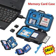Card Reader Memory Cards Case SD Card Holder Waterproof Stocker Shell Protect YO