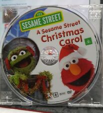 A Sesame Street Christmas Carol (disc only)-  DVD  - FREE POST