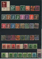 Germany, Deutsches Reich, Nazi, liquidation collection, stamps, Lot,used (TT 53)