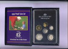 "1999 Royal Australian Mint Proof Set: ""International Year of Older Persons."""