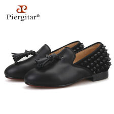 Children Spikes Loafers Parental Shoe Same Men Loafers Design Handmade
