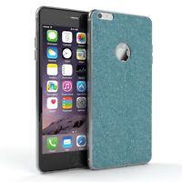Schutz Hülle für Apple iPhone 6 / 6S Plus Glitzer Cover Handy Case Hellblau