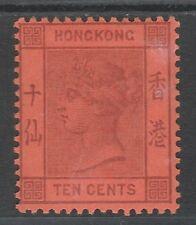 HONG KONG 1882 QV 10C