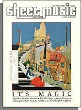 Sheet Music Magazine (Easy Organ) - 1985, October - It's Magic! Jeepers Creepers