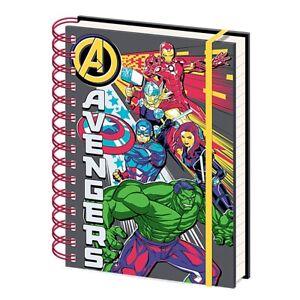 Genuine Marvel Avengers Character Burst A5 Hardback Journal Notebook Note Pad