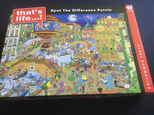 1000 piece Thats Life jigsaw Puzzle Spot The Difference (complete)