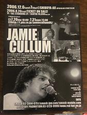 JAMIE CULLUM Japan 2006 flyer live gig CONCERT mini-poster MINT rare TOKYO vers.