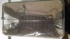 Argos bicycle/bike/cycle handlebar metal shopping basket with handle - BNIB