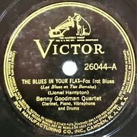 Benny Goodman Quartet: The Blues In My Flat / Blues In Your Flat: Victor 1938
