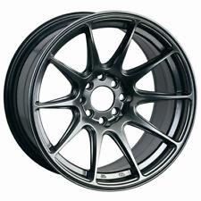 XXR 527 18x8 5x108/112 +42 Chromium Black Wheel Fits 5 Lug Ford Focus Taurus ShO