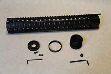 """15"""" Length Free Float Hand Guard Slotted Rail System+end cap for RUGER RPR RIFLE"""