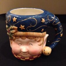 3D Christmas Elf Large Coffee Tea  Mug  Susan Winget Certified International