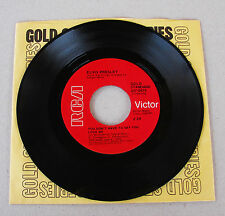 Elvis Presley 447-0678 You Don't Have To Say / Patch It Up RARE RED LABEL Mint-