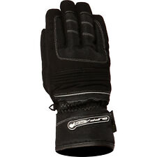 Bgtrail90la - Buffalo Trail Motorcycle Gloves L Black Silver