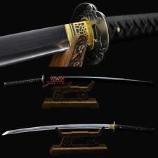 Hand Forge 1095 Carbon Steel Blade Japanese Samurai Sword Full Tang Katana Sharp