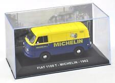 Italian EM11 - Fiat 1100 T Van 1962 Blue 'Michelin' 1/43 Scale - 1st Class Post