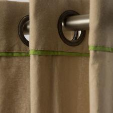 Ready-Made Curtain Eyelet Curtain Duo Natural Green 135x250cm