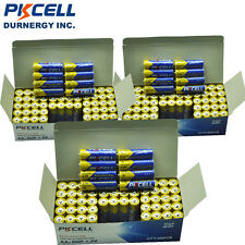 (Pack of 180) PKCELL AA Batteries 1.5V UM-3 2A R6P Carbon zinc Battery for Toys