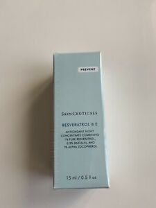 SkinCeuticals Resveratrol BE 15ml BRAND NEW AND SEALED! 100% GENUINE