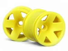 New Hpi for Associated Losi Trucks Type F5 Truck Wheel TYPE (Front/Yellow) 3044