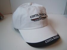 Costa Magica Hat White Strapback Baseball Cap