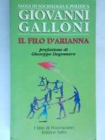 Il filo d'AriannaGalloni giovanni politica democrazia cristiana Zaccagnini 803