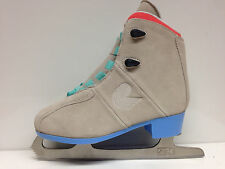 Roces upbeat Bizarre Suede Blue Figure Skating Ice Skating Softboot Iceskate 36