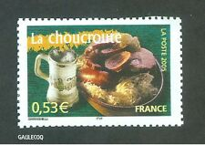 FRENCH POSTAGE - LA CHOUCROUTE STAMP 0,53 LA POSTE FRANCE 2005