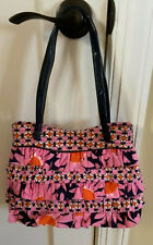 "Authentic ""Vera Bradley"" Multi-Colored Spring/Summer Ruched fabric Handbag-Tote!"
