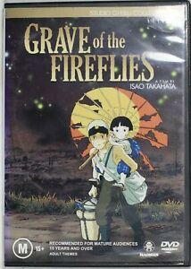 Grave Of The Fireflies (DVD, 2004, 2-Disc Set) Reg 4 Preowned (D763)
