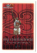 Michael Jordan 99 Upper Deck MJ Exclusive FIVE TIME MVP WINNER Basketball Card