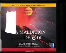 La Maldicion de Odi Maite Carranza Adriana Sananes Recorded Books CDs Audiobook