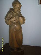 Sehr schöne geschnitzte Mönchfigur
