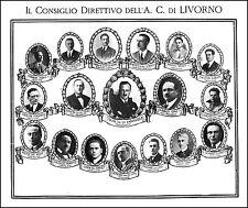 STAMPA 1926 AUTOMOBIL CLUB LIVORNO ACI CONSIGLIO DIRETTIVO TRON GIUBBILEI
