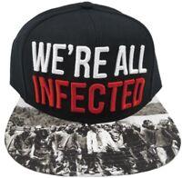 Walking Dead Black Snapback Hat